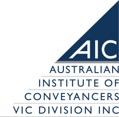 The Australian Institute of Conveyancers Victoria